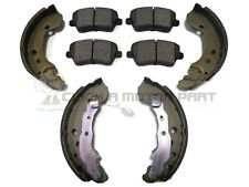 Renault Clio Campus 1.2i CR11 Rear Brake Shoes Set For Brake Drums 203mm