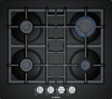 table cuisson gaz 60cm 4 feux noir - bosch