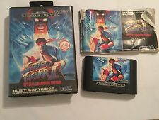 SEGA MEGADRIVE GAME STREET FIGHTER II SPECIAL CHAMPION EDITION COMPLETE PAL
