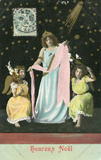 Carte Heureux NOEL avec des anges