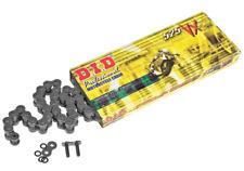 DID 525 VX Black/Black (Raw finish) Pro-Street X-ring Motorcycle Chain 124 link