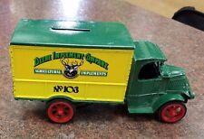 """Ertl Mack Truck Bank, John Deere Implement Co, 1926 Bull Dog, #3479, 6 1/2"""" long"""