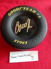 Nascars Brad Keselowski Signed Mini Goodyear Racing Tire