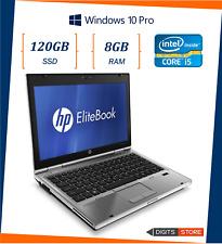"""pc portatile notebook usato ricondizionato 12.5"""" RAM 8GB SSD 120GB HP 2570p i5"""