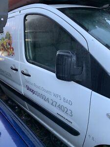 Citroen Distatch Fiat Scudo Peugeot Expert Drivers Front Door White 2007To2016