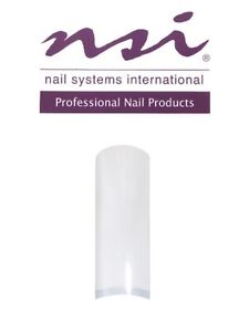 NSI Dura Tips Clear x50 (Assorted Sizes)