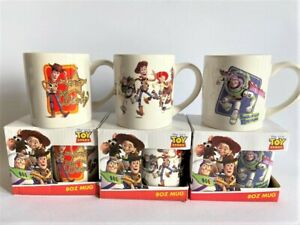 TOY STORY CERAMIC MUGS  - 3 TO CHOOSE FROM - BOXED - NEW - LICENCED (8OZ)