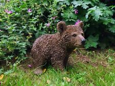 More details for real life brown bear cub,  realistic home & garden ornament. vivid arts. size d