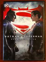 Batman v Superman - Dawn of Justice (DVD, 2016) - F0901