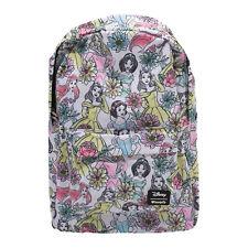 Loungefly Disney Princess Flower Backpack NEW Bag School