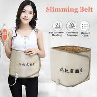 Compress Far Infrared Heating Slimming Belt Weight Loss Vibration Massager BEST