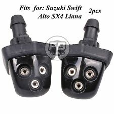 2x Windshield Wiper Spray Jet Washer Nozzle for Suzuki Swift Alto SX4 Liana