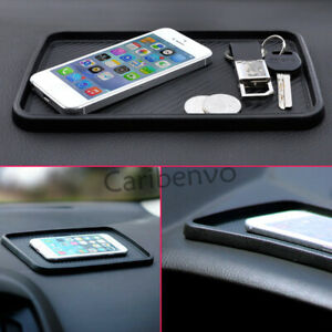 Car Dashboard Non-Slip Stuff Storage Phone Key Catcher Pad Mat Accessories