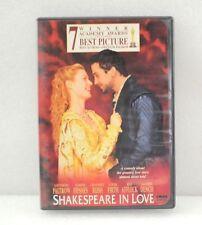 Shakespeare In Love Dvd Movie Original Release
