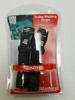 Masters Golf Bag Trolley Webbing Straps Black
