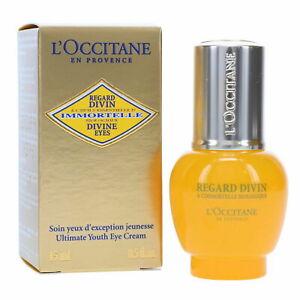 L'OCCITANE Immortelle Divine Eyes Cream 15ml/0.5 oz NEW in Box