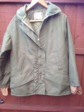 Vintage Husky Ltd Mens Insulated Coat Green waterproof winter