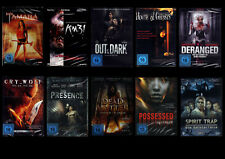 DVD -Sammlung  - 10 x Horror - neu - DVD-Paket - Restposten!!