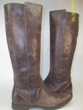 J.Crew Glenbrae Wos Boots US 6 Brown Leather Casual Riding Knee High $250   1967