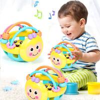 2019 Cute Handbells Musical Developmental Toy Bed Bells Kids Baby Toys Rattle  W