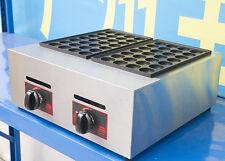 CE Commercial LPG Takoyaki Maker Takoyaki Machine Fish Ball Grill 56pcs/per time
