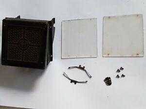 Rolleiflex Rolleicord Art-Deco Focus Hood & Screens *** PARTS FOR REPAIR ***