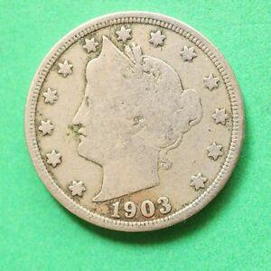 1903 USA Nickel 5 Cents SNo53013