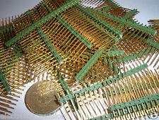 5 un. 23 Pin Header Tiras, chapado en oro, 0.1 Pulgadas 2.54 mm de inclinación de 20 mm de altura