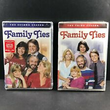 Family Ties - Family Ties: Second & Third Seasons [DVD] Full Frame, New Sealed