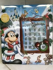 Disney Christmas Holiday Countdown Magnetic Calendar Mickey Chip & Dale New