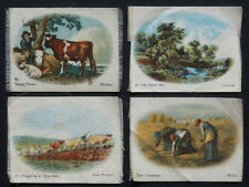 OLD MASTERS Tobacco Silks Set 4 issued in 1913 Quilt Patch Block