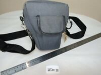 Vintage SLR Camera Bag In Blue Good Condition M140