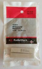 NEW! RadioShack 10 Ohm 10 Watt Wirewound Resistors 2710132 *FREE SHIPPING*