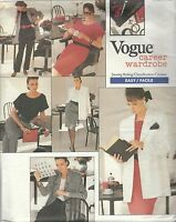 Vogue 2023 Misses'/Miss Petite Jacket, Dress, Top, Skirt & Pants  Sewing Pattern