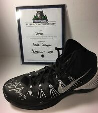 Dante Cunningham NBA Basketball Signed Sized 18 NIKE Sneaker With COA Pelicans
