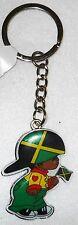 Jamaica Flag Little Boy Keychain
