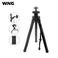 Flexible Octopus Mobile Tripod with Ballhead Phone Holder for Phone Camera Gopro