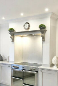 100 Cm   Long Georgian Style Mantel With Corbels(bare Wood )