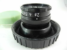 NIKON 50/2.8 EL NIKKOR PERFECT GLASS COMES WITH GLOBE VERY EARLY PERFECT GLASS