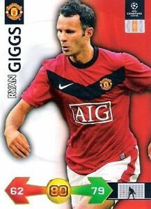 Adrenalyn XL - Super Strikes 2009/2010 - Manchester United Spieler aussuchen