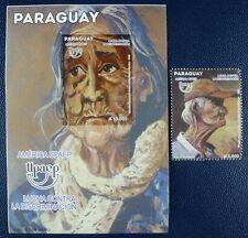 Paraguay 2013 UPAEP Anti-Diskriminierung Gemälde Painting Postfrisch MNH