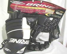Lacrosse Gloves Brine New Ad Lg L33 Gel Blk/Wh Lax Stx Free Shipping