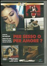 DVD Per sesso o per amore? Monica Bellucci