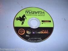 JEREMY MC GRATH SUPERCROSS WORLD GAMECUBE CD SEUL