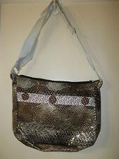 NEW  Fashion Snakeskin Look Handbag Purse....SOMETHING DIFFERENT