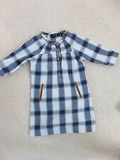 NEXT- Blue/white Cotton check dress - Spring/Summer Age 5 yrs