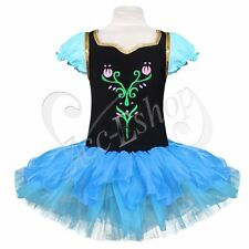 Girls Ballet Tutu Dancewear Party Skating Dress 1-8Y Kids Leotard Skirt Cosplay