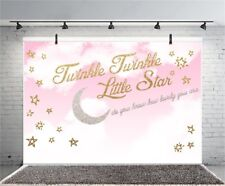 Twinkling Little Star Baby Photography Backdrop Photo Background Vinyl 7x5Ft