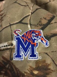 Memphis Tigers Realtree Camo Full Zip Hooded Sweatshirt