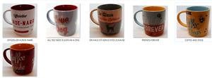 Nostalgic Art Tasse Nostalgie - Kaffee und Hunde Hunde-Liebhaber Kaffeetasse
